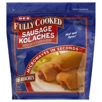 H-E-B Fully Cooked Sausage Kolaches