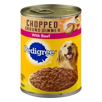 Pedigree Chopped Ground Dinner Food For Dogs With Beef