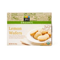 365 Organic Lemon Wafer Cookies