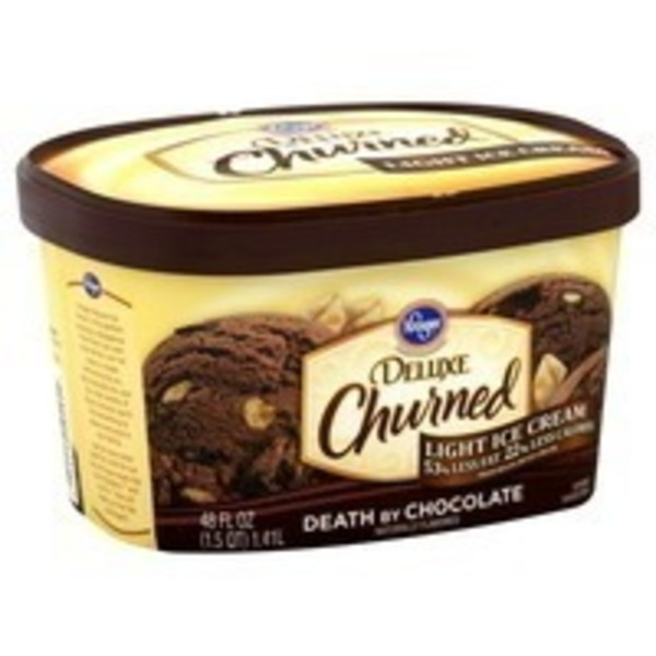 Kroger Deluxe Light Ice Cream Death By Chocolate