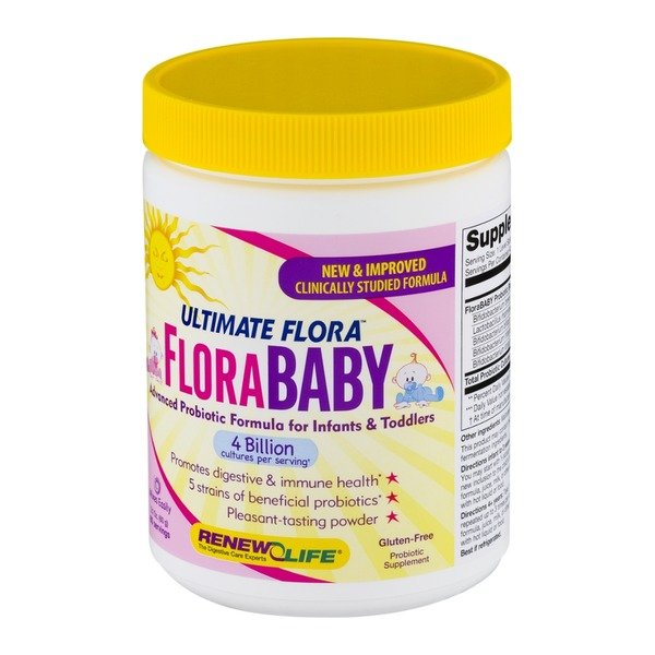 Renew Life Ultimate Flora Flora Baby Advanced Probiotic Formula For Infants & Toddlers