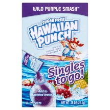 Hawaiian Punch Drink Mix, Wild Purple, .75 Oz, 8 Packets, 1 Count