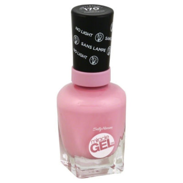 Sally Hansen Miracle Gel Nail Polish - Pink Cadillaquer 170