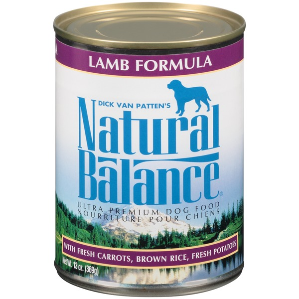 Natural Balance Ultra Premium Lamb Formula with Fresh Carrots Brown Rice Fresh Potatoes Dog Food
