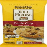 Nestle Toll House Triple Chocolate Chip Cookie Dough