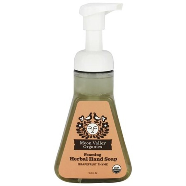 Moon Valley Organics Foaming Herbal Hand Soap Grapefruit Thyme