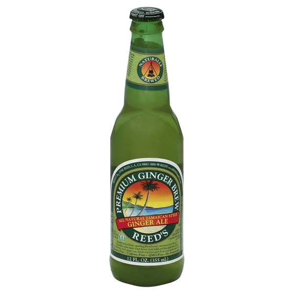 Reed's Inc. Jamaican Style Premium Brew Ginger Ale