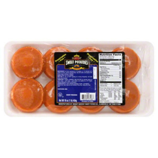 Bright Harvest Sweet Potatoes Patties - 8 CT