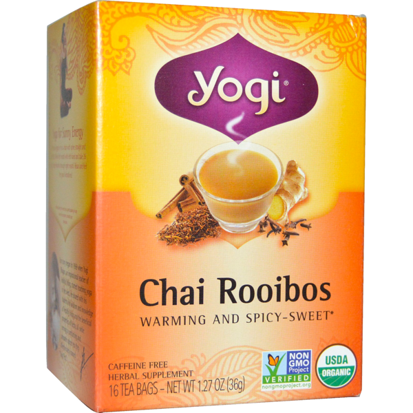 Yogi Chai Rooibos Caffeine Free Herbal Tea