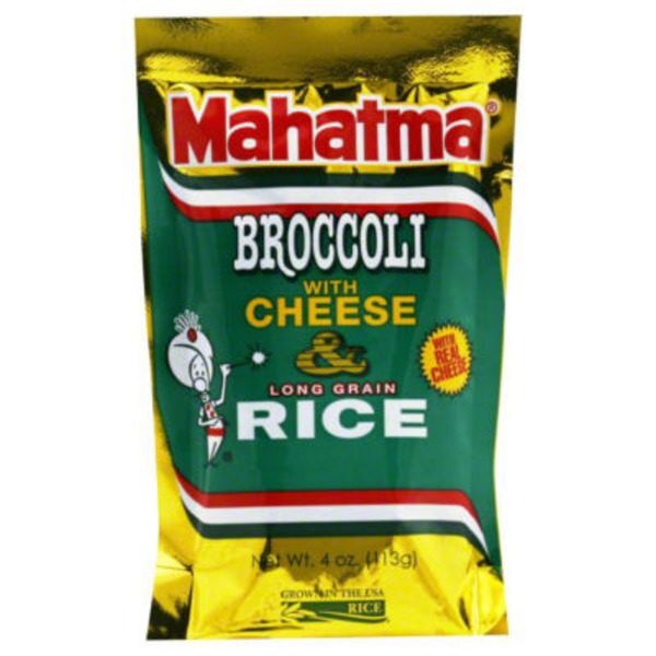 Mahatma Broccoli with Cheese Long Grain Rice