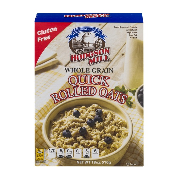 Hodgson Mill Whole Grain Quick Rolled Oats