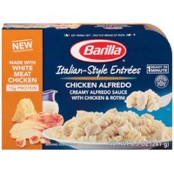 Barilla Ready Meals Italian-Style Entrees Chicken Alfredo Pasta