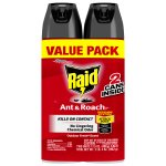 Raid Ant & Roach Killer, Outdoor Fresh 17.5 oz, 2 ct