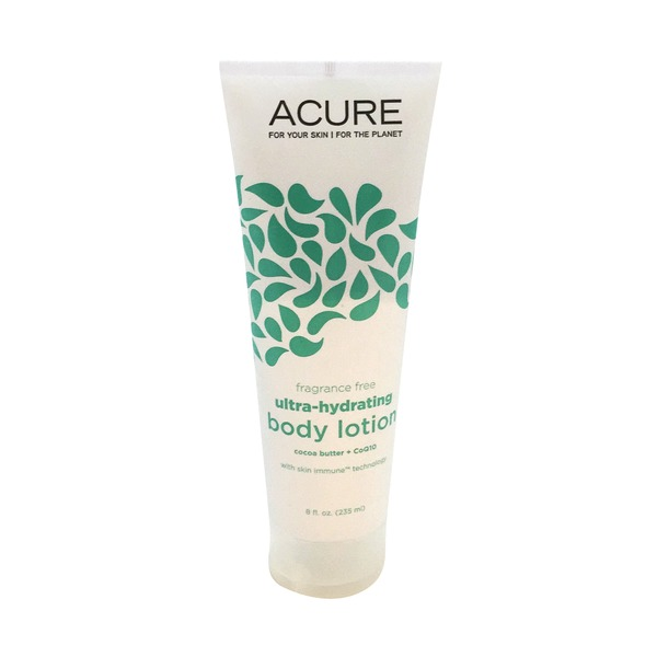 Acure Ultra-Hydrating Fragrance Free Body Lotion