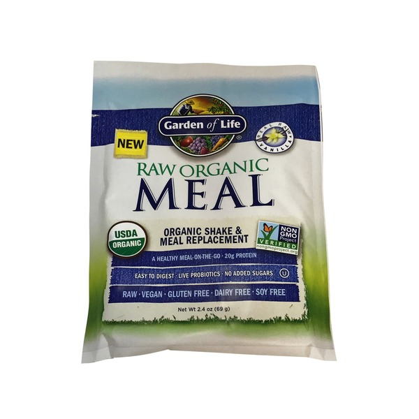 Garden of Life Raw Meal Packet Vanilla