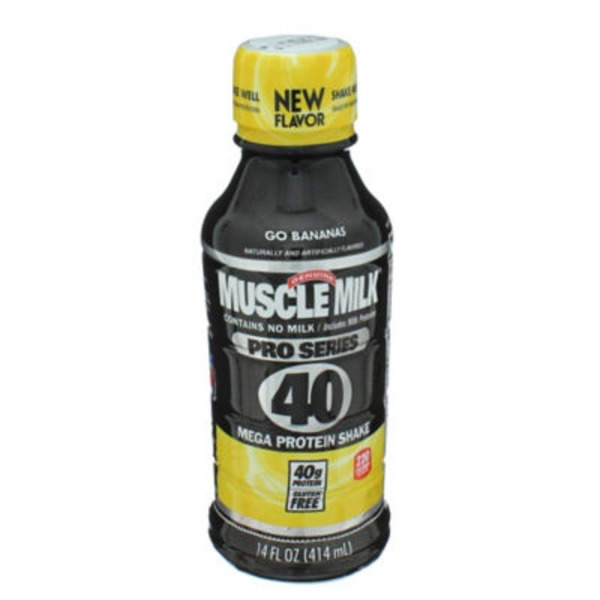 Muscle Milk Pro Series Go Bananas Non Dairy Protein Shake