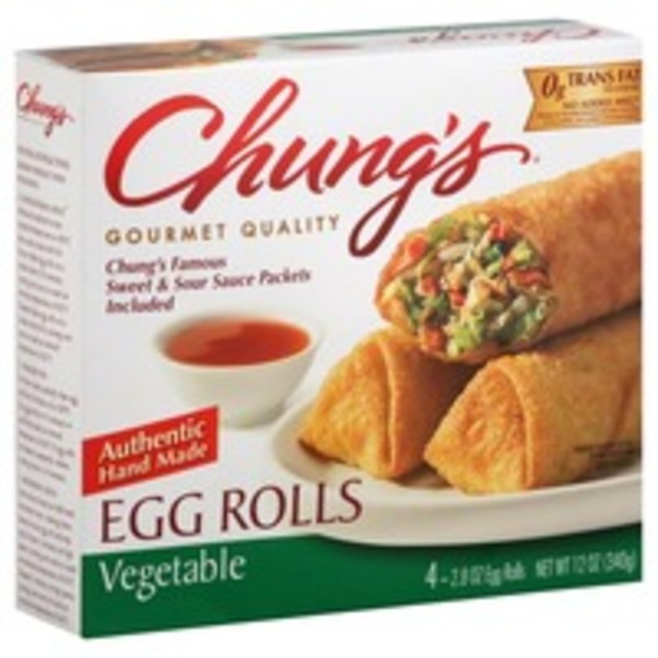 Chungs Egg Rolls, Pork