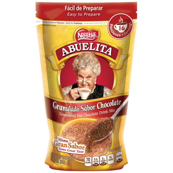 Abuelita Authentic Mexican Chocolate Drink Mix Granulated Chocolate Drink Mix