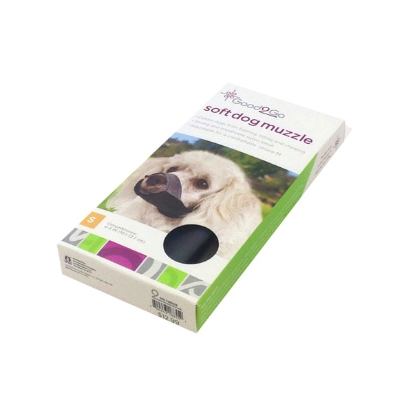 Good 2 Go Small Nylon Soft Dog Muzzle