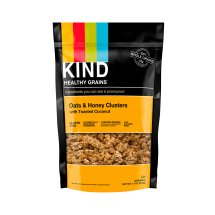 KIND Granola Clusters, Oats & Honey Clusters with Toasted Coconut, 11 oz Pouch, Gluten Free, Healthy Grains Clusters