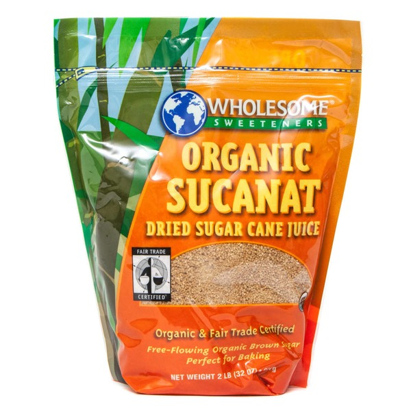 Wholesome Organic Sucanat Dehydrated Cane Juice