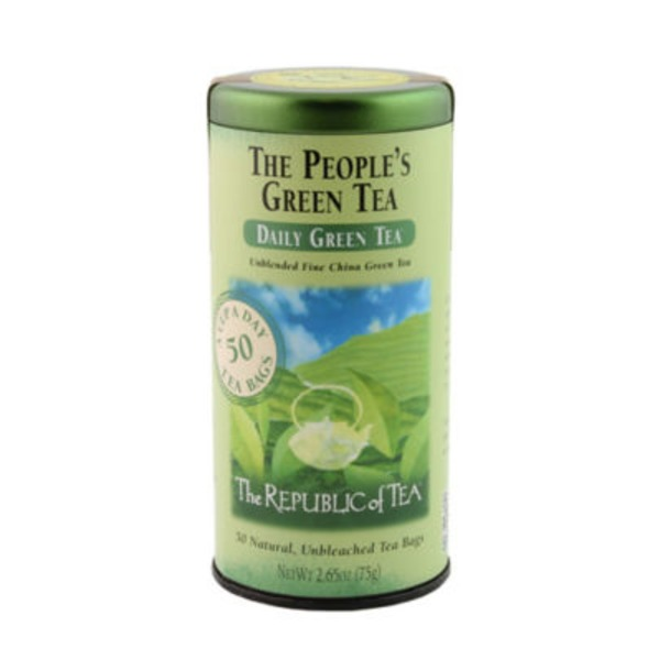 The Republic of Tea The People's Daily Green Tea