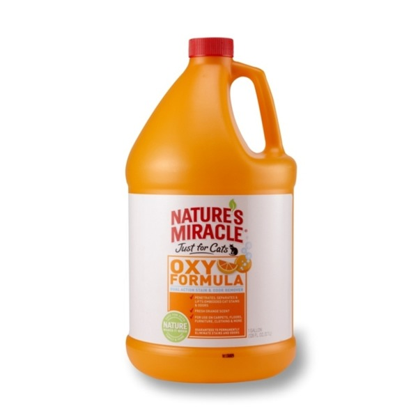 Nature's Miracle Orange Oxy Power Just For Cats Stain & Odor Remover