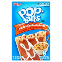 Kellogg's Pop-Tarts ChocolateChip Cookie Dough Toaster Pastries 14.1oz