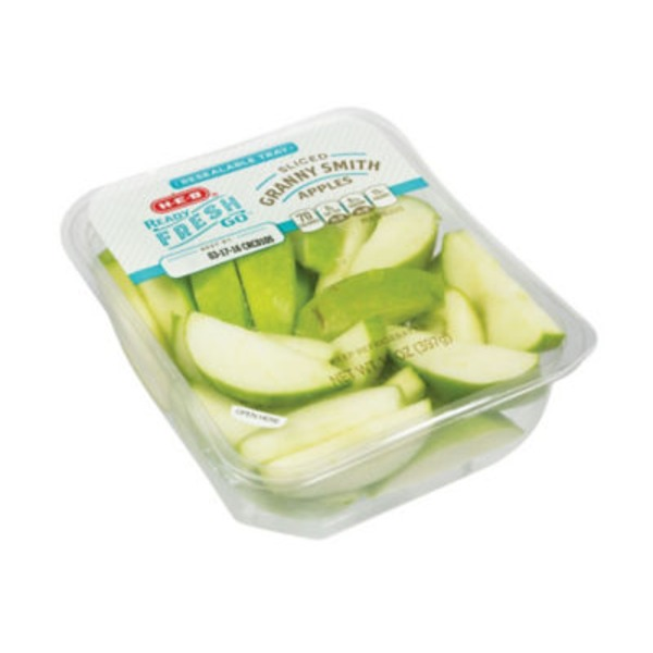 H-E-B Ready Fresh Go! Granny Smith Apple Slices