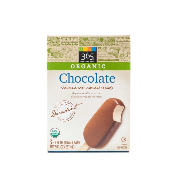 365 Chocolate Vanilla Ice Cream Bar