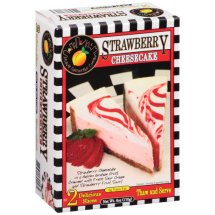 Atlanta Cheesecake Company Strawberry Cheesecake, 2 count