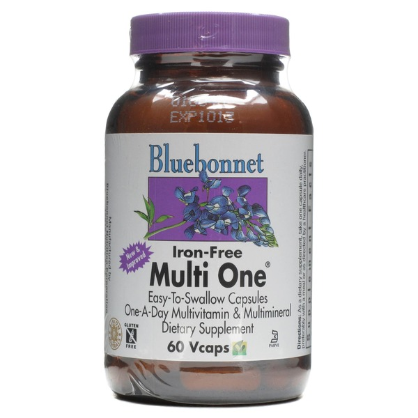 Bluebonnet Iron Free Multione Single Daily Multivitamin