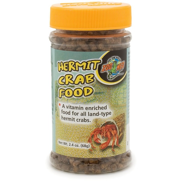 Zoo Med Medium Hermit Crab Food Pellets