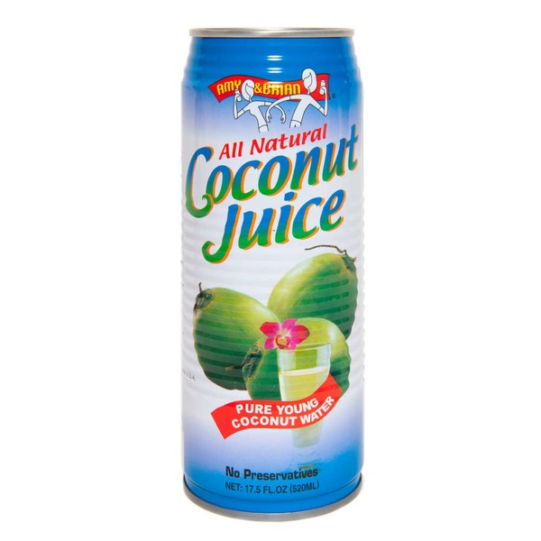 Amy & Brian Coconut Juice