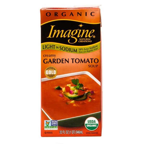 Imagine Foods Natural Creations Soup Creamy Garden Tomato Light in Sodium Organic