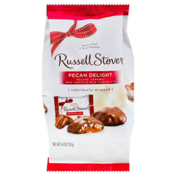 Russell Stover Milk Chocolate Pecan Delight