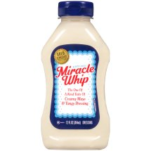 Kraft Miracle Whip Mayo Dressing Original, 12 fl oz Bottle