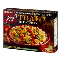 Amy's Organic Thai Red Curry Meal Rice and Vegetable