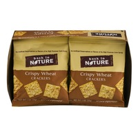 Back to Nature Crispy Wheat Crackers Pouches - 8 CT