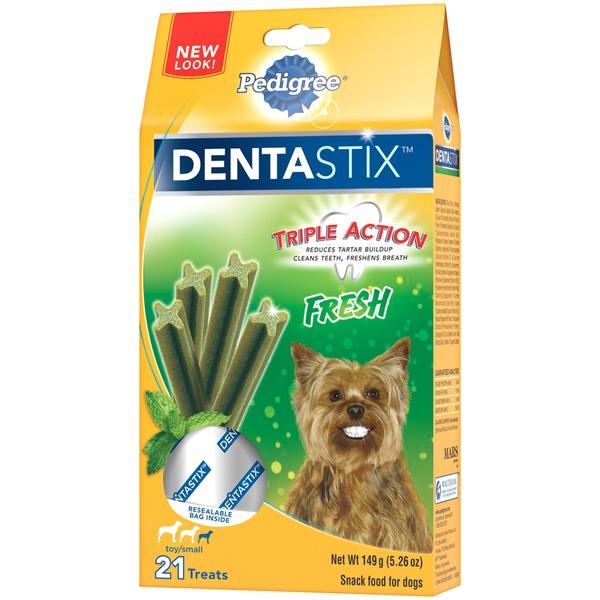 Pedigree Dentastix Fresh Toy/Small Dog Care & Treats