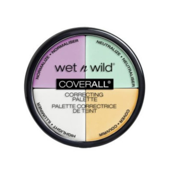 Wet n' Wild Coverall Correcting Palette 349 Color Commentary