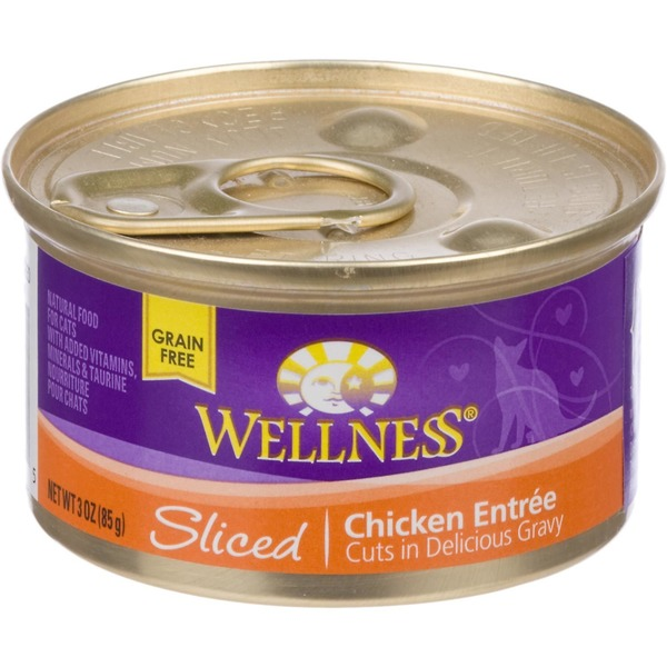 Wellness Sliced Chicken Entree Cat Food