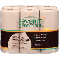 Seventh Generation 100% Unbleached Recycled Paper Towels