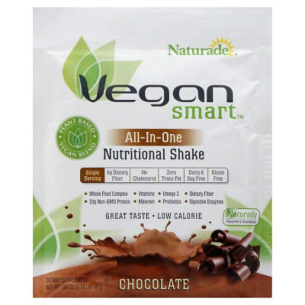Naturade Nutritional Shake, All-In-One, Chocolate