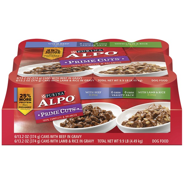Alpo Wet Prime Cuts Variety Pack Dog Food