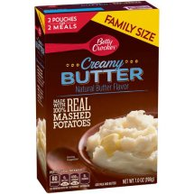 Betty Crocker Homestyle Creamy Butter Mashed Potatoes, 7.0 oz