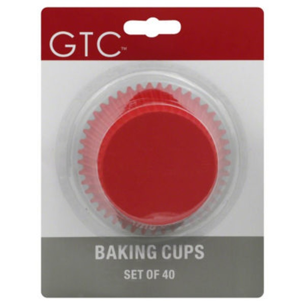 GTC Texas Size Primary Colors Baking Cups