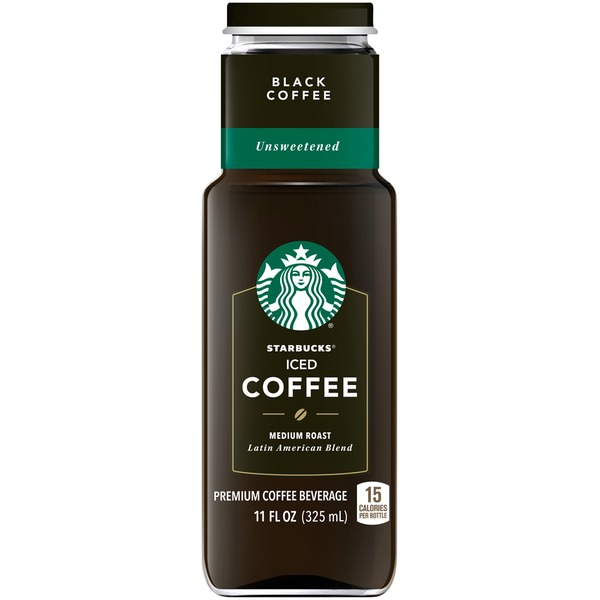 Starbucks Iced Unsweetened Black Medium Roast Coffee
