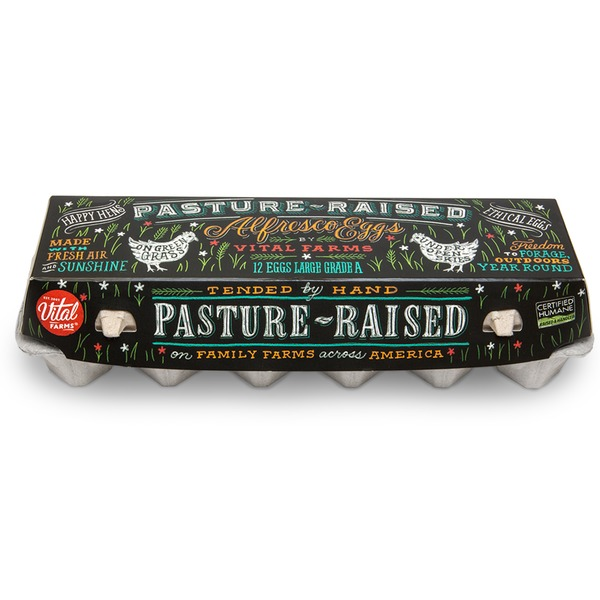 Vital Farms Large Alfresco Pasture Raised Eggs