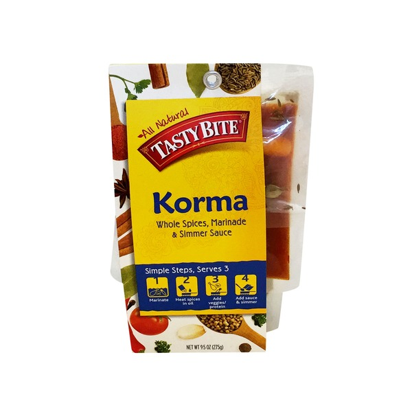Tastybite Indian Korma Whole Spices Marinade & Simmer Sauce